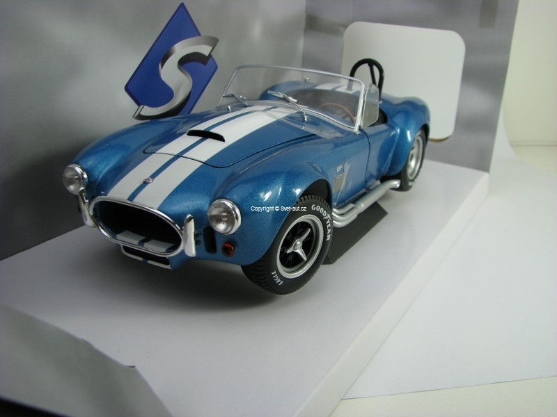 Shelby AC Cobra 427 MKII 1965 Metallic Blue 1:18 Solido